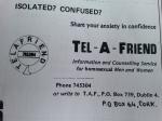 Tel-A-Friend IGRM Helpline (Orla Egan)