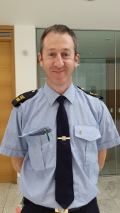 Karl Griffin, Cork LGBT Garda Liaison Officer. Photo Orla Egan