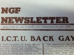 NGF Newsletter 28 July 1982