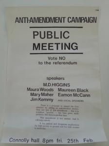 Anti-Amendment meeting Cork